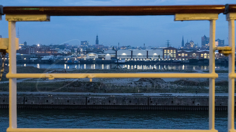 the port of Hamburg - St. Michael's Church - Elbphilharmonie