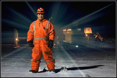 Portrait de Nelson, Baie Déception, Nunavik, Québec