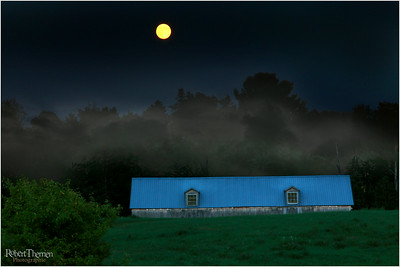 Pleine lune d'août, Rg. St-Pierre à Shawinigan-Sud, P.Q.