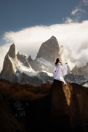 Fitz Roy. Mother Godess of the Winds.