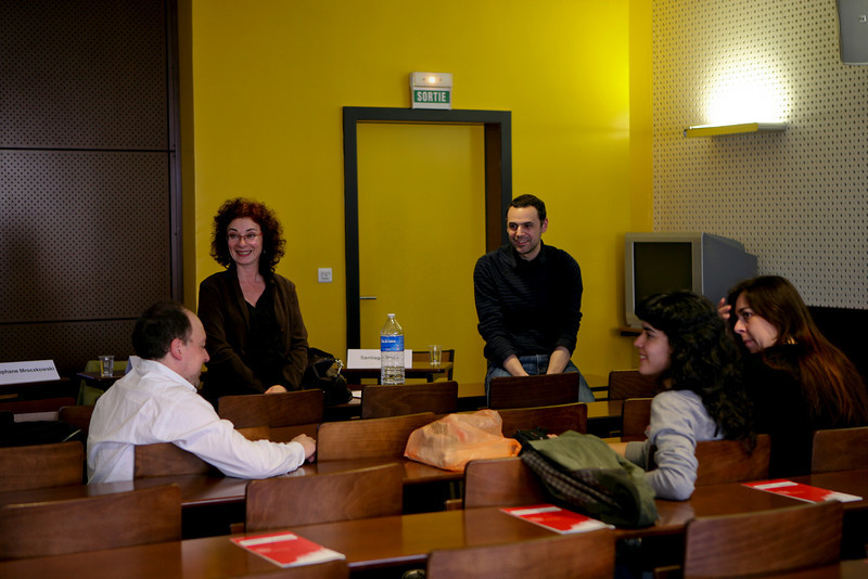 Santiago Borja, Corine Pencenat, Stéphane Mroczkowski, Pia Camil et Laura Martin