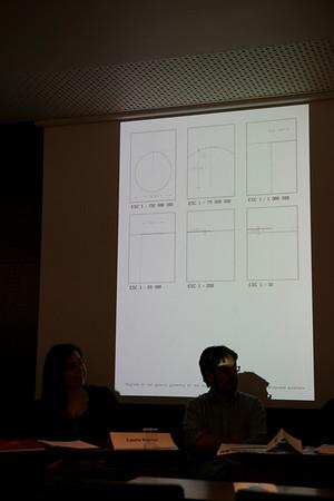 Présentation des travaux de Jose Arnaud et de Sebastian Cordova sur diaporama