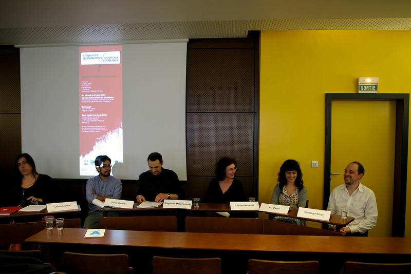 Laura Martin,  Erick Beltrán, Stéphane Mroczkowski, Corine Pencenat, Pia Camil, Santiago Borja.