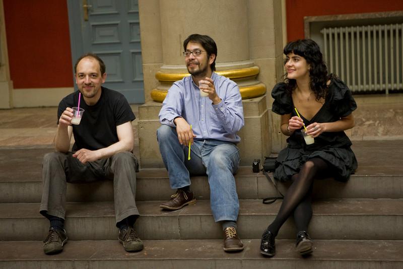 Santiago, Erick et Pia