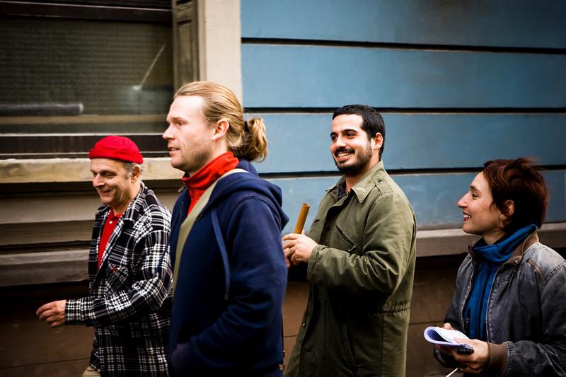 L'Équipe en vadrouille ... Christian, Matthieu, Yonathan et Kathleen ...