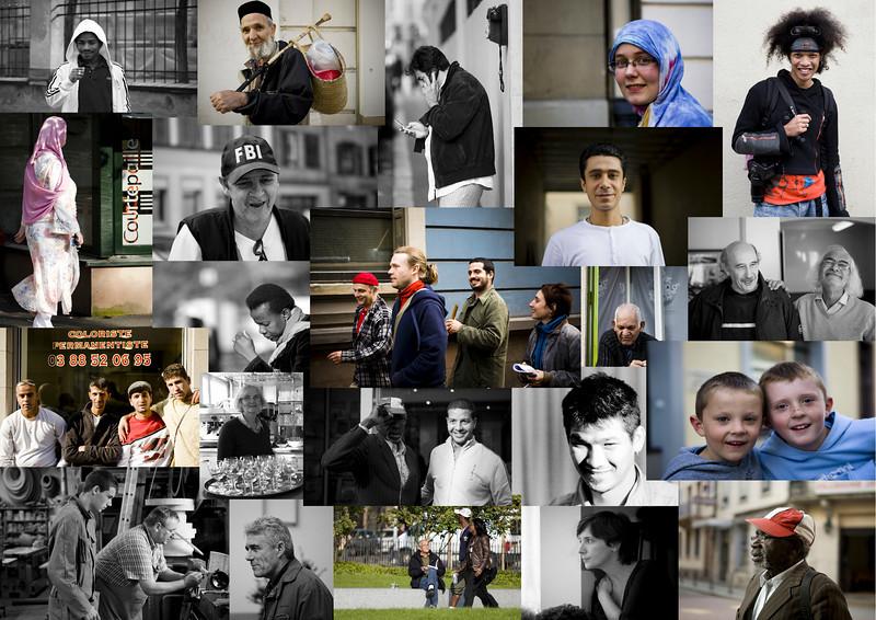 Portraits dans le Quartier Gare