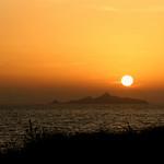 Les îles sanguinaires, au large d'Ajaccio.