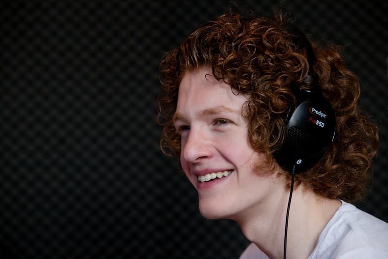 Benjamin de la Nouvelle Star de M6 sur Radio bienvenue Strasbourg, 23 juin 2010.