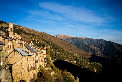 Roubion, Alpes Maritimes (France)