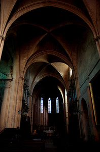 Arches, Saint-Sauveur Cathedral, Aix-en-Provence, France, French Riviera