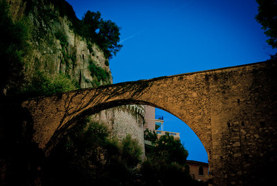 Roman bridge in Monaco