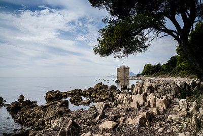 Iles de Lerins, Saint-Honorat, Cannes, Cote d'Azur, France