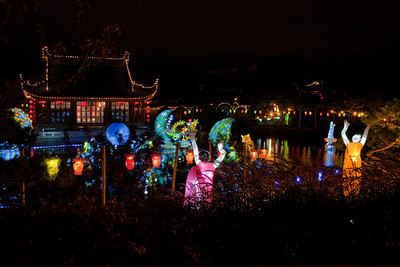 The Magic of Lanterns, Botanical garden, Montreal, Lights On