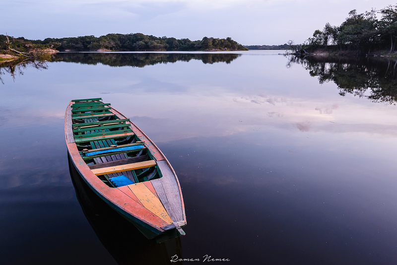 Amazon expedition: The evening falls on the on the River Urubu #Amazon #Amazonia #amazonadventure #adventure #riourubu  #expedition #brasil  #aventura #wanderlust #kanoa #natgeo