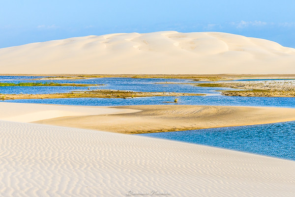 Is this astonishing landscape still on Earth? Sweet water pools in the white-sand desert...where the breeze never stops to blow!gff