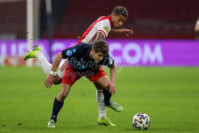 28-01-2021: Voetbal: Ajax v Willem II: Amsterdam