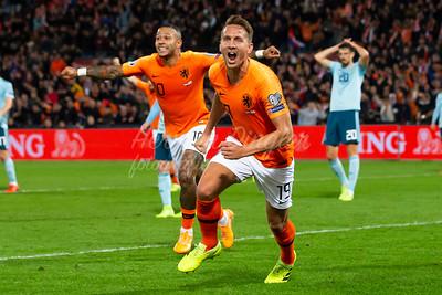 10-10-2019: Voetbal: Nederland v Noord Ierland: Rotterdam