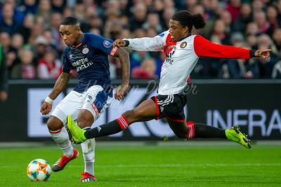 §02-12-2018: Voetbal: Feyenoord v PSV: Rotterdam , Eredivisie seizoen 2018/2019 ,