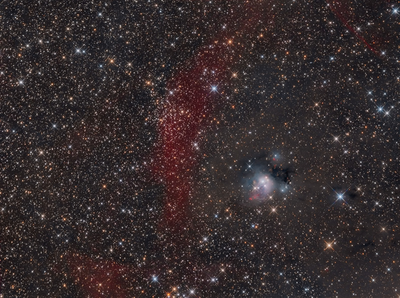 NGC 7129 NGC 7142