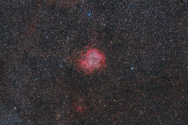 NGC-2237 Rosette-Nebula