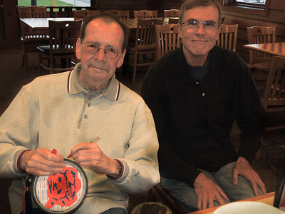 Friday, October 14, 2016. Class of '67 meets for 50th Reunion planning-location AND a Mini Reunion at Pizza Hut.
