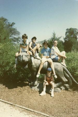 August 1985 Tulsa Zoo