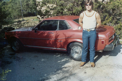 #019 1981 - Senior Year Jon w-1977 Toyota-