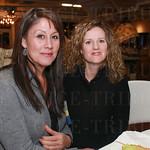 Karen Gahafer and Emily Hext.