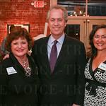 Linda Jackson, Mayor Greg Fischer and Beth Meyer.