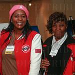 Phyllis Johnson and Arvella Hillman.