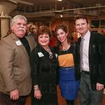 Ben and Linda Jackson with Jennifer Lamkin and Michael Neuman.