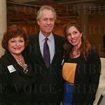 Linda Jackson, Mayor Greg Fischer and Jennifer Lamkin.
