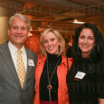 Bob and Melissa Webb with Julie Mudd.
