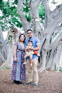 Hunter Luna's 1st Birthday (Fusion Booth + Family Portraits)