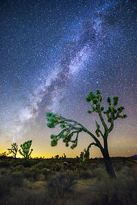 Mojave Milky Way