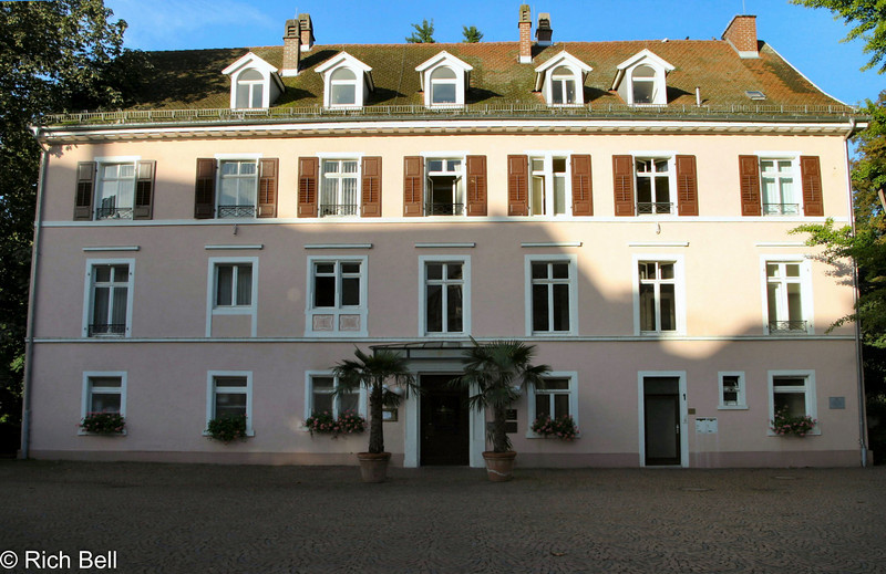 House in downtown Baden Baden Germany