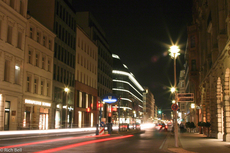 20040912Friedrichstrasse at night Berlin Germany0047