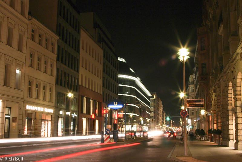 20040912Friedrichstrasse at night Berlin Germany0047