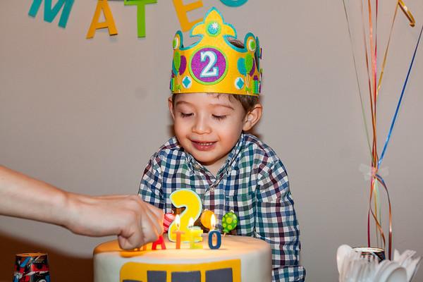 Mateo's 2nd Birthday