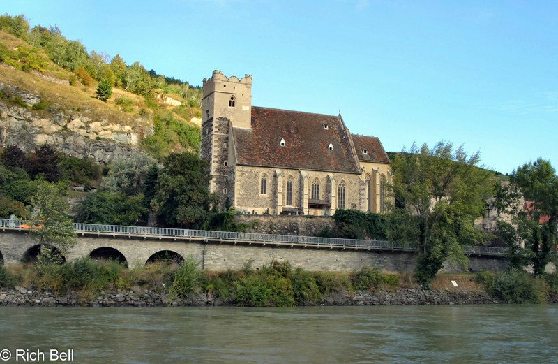 Church on Danube River Austria