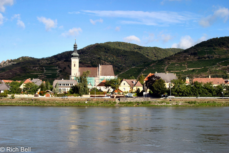 Church on Danube River Austria 4