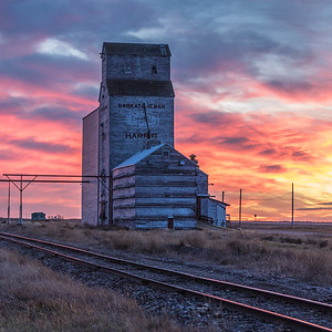Harris Elevator Sunset