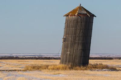 Leaning Silo of Saskatchewan