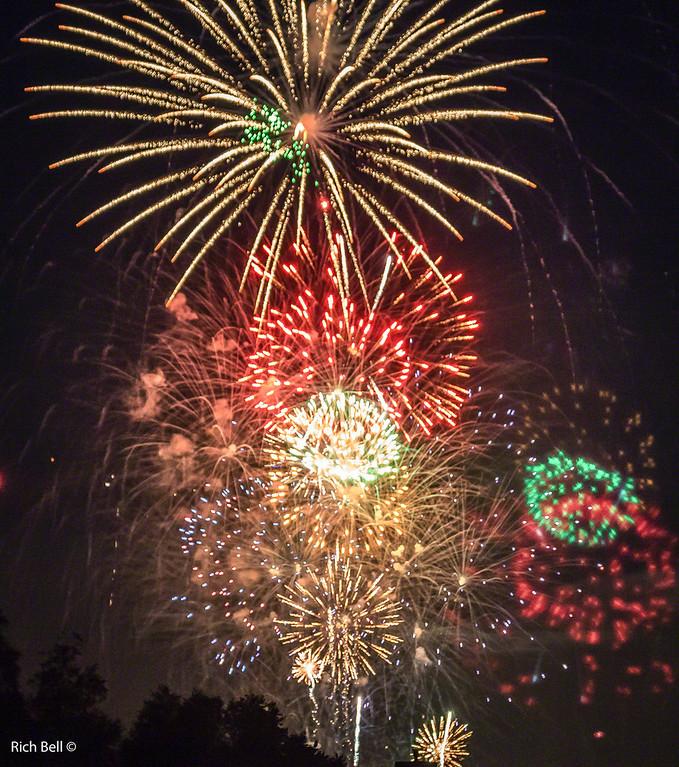 Indiana, Geist Fireworks 2014