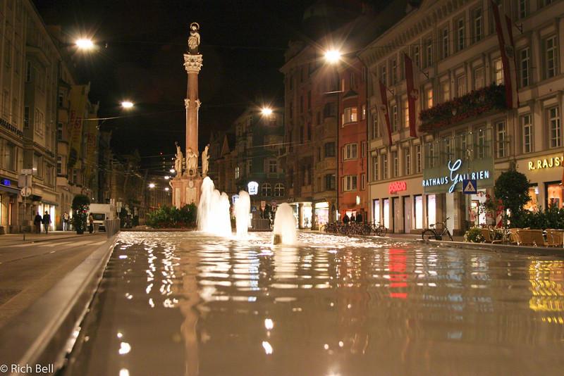 20040928Downtown Fountain Innsbruck Austria0520