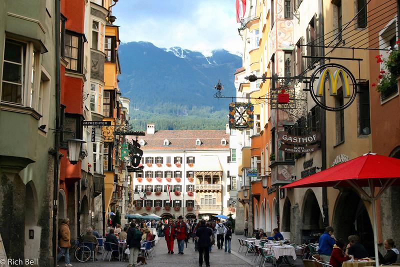 20040927Downtown Innsbruck Austria near our Hotel0505
