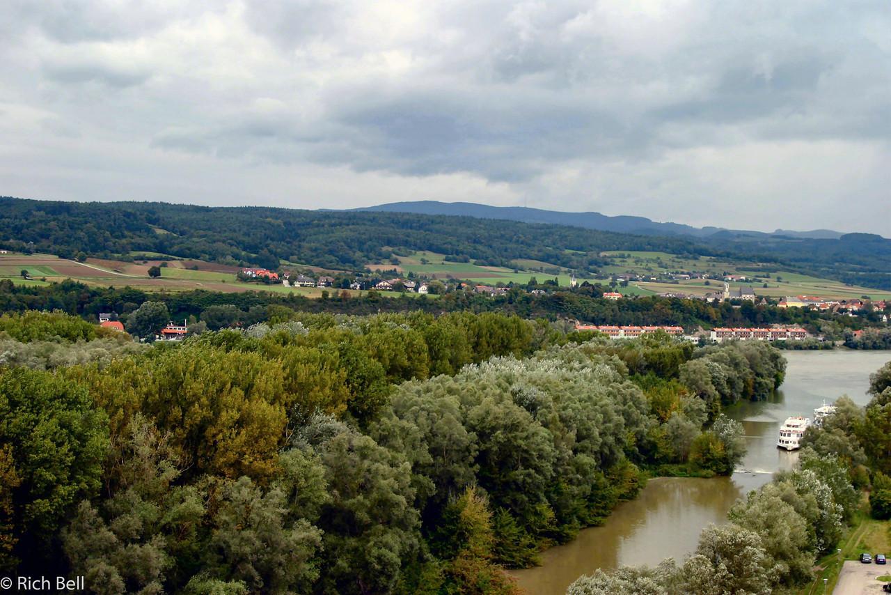 20040924Melk's Boat Harbor for Danube River Trip Austria0334