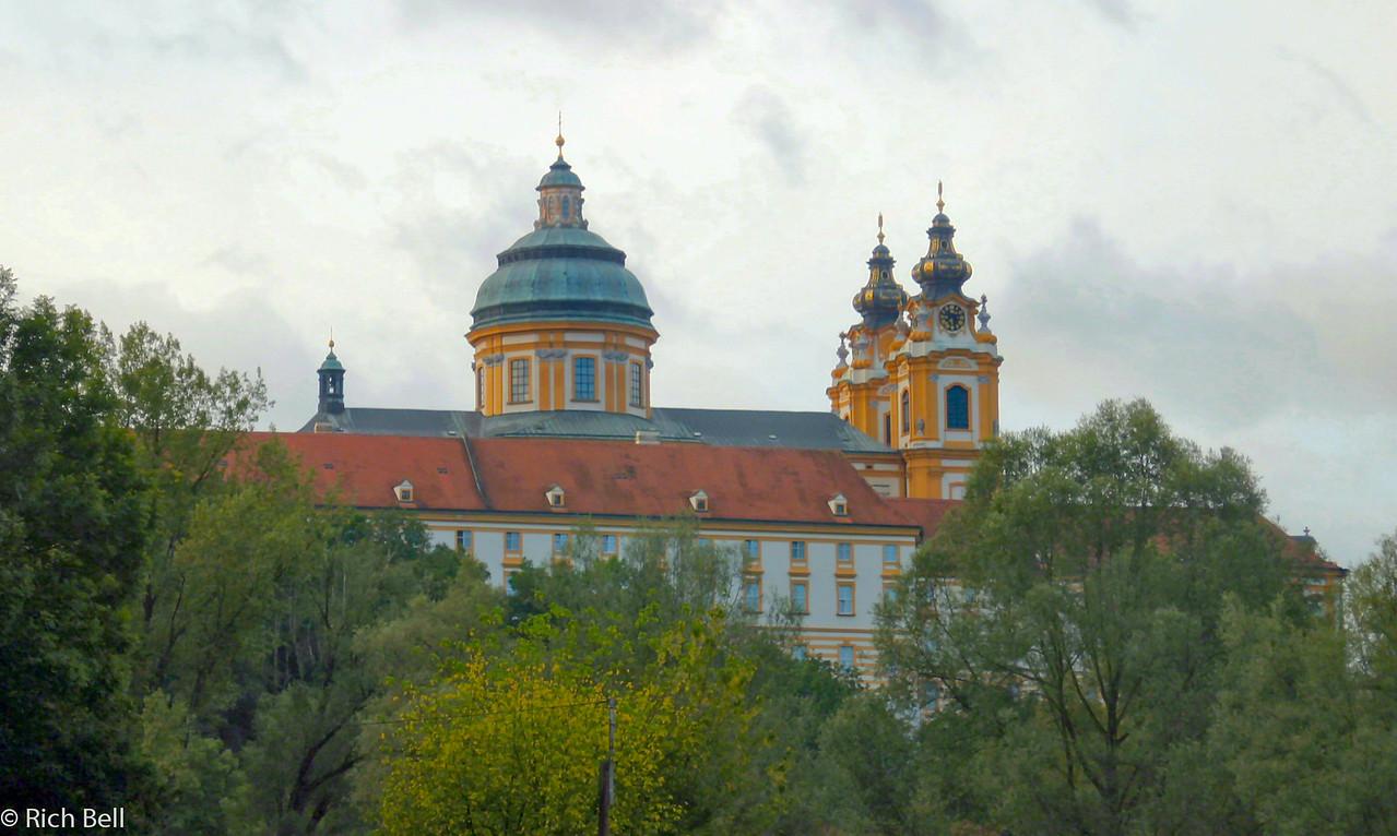 20040924Melk Abbey  from the Danube River Austria0329