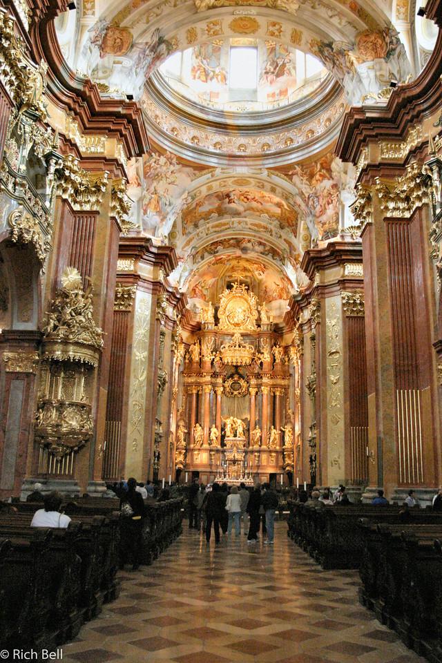 20040924Chapel of Melk Abbey Austria0308