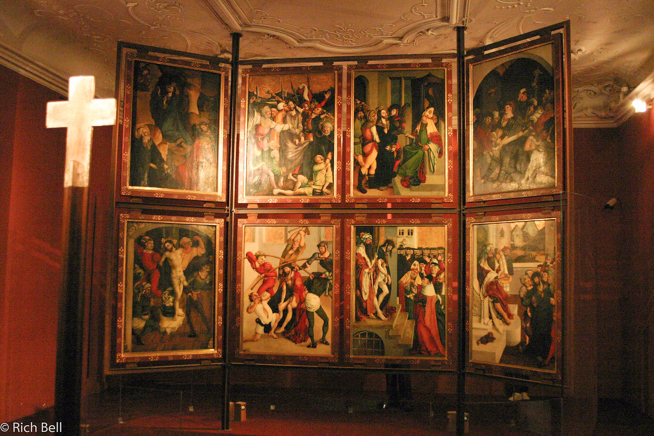 20040924Interior of Melk Abbey Austria 70325
